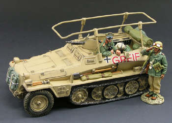 AK029SL Rommel's Greif Command Half-Track (Strictly Limited)