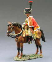 KCS072 - Chasseur a Cheval Officer in Dress Uniform